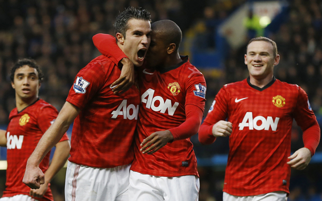 Man Utd vs Arsenal: Van Persie, Evra shoot down 10-man Gunners 2-1