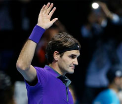 Roger Federer defeats David Ferrer, advances to semifinals of ATP World Tour Finals