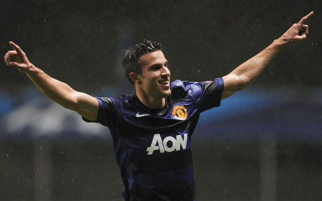UEFA Champions League: Persie-inspired Manchester United defeat Braga 3-1