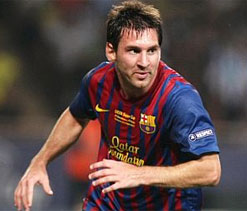 Record 86 for Messi as Barca beat Betis