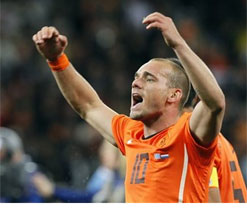 Sneijder on his way to PSG