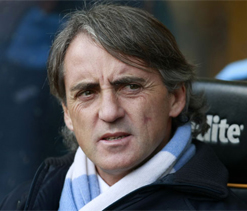 Mancini blasts Balotelli for 'mediocre' performance during derby loss to Man U