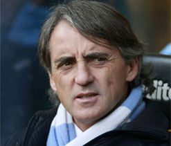 Mancini says Man City 'much better' than Man U despite losing derby