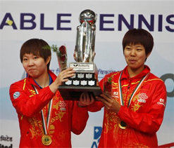 China claims all titles at junior World TT Ch`ship