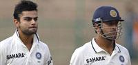 Kohli and Dhoni heroics brings India back into the game