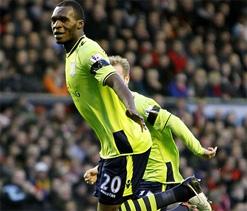 Aston Villa beat Liverpool 3-1 at Anfield