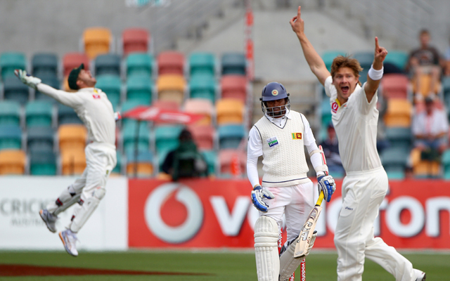 Hobart Test: Sri Lanka chasing 393 for victory
