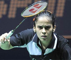 Saina eyeing All England Championship and World titles