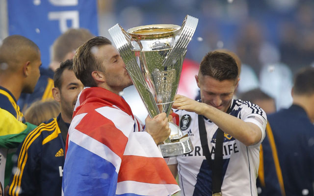 Dream end for Beckham as LA Galaxy win MLS after beating Dynamos 3-1