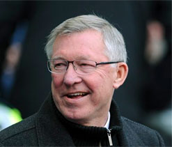Manchester United boss Sir Alex Ferguson lavishes praise on possible successors Mourinho and Guardiola