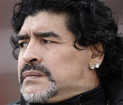 Maradona in talks to coach Iraq team