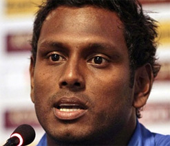 Mathews says Lanka's recent performances earned them Boxing Day Test