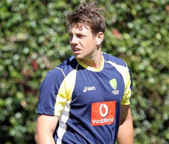 Pattinson training well after recuperating from rib injury