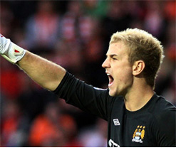 Manchester City can still win the title: Hart