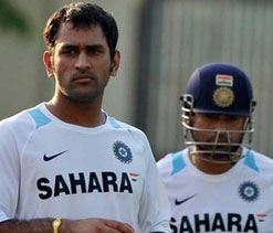 After pitch-row, Dhoni, Mukherjee avoid each other at Eden