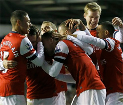 Arsenal 7-3 Newcastle: Walcott & Giroud help Gunners end the year on a high