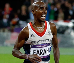 Farah claims he was quizzed by customs officials at US airport