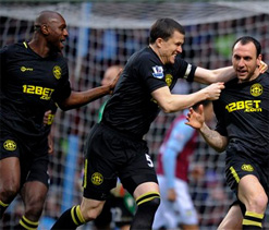 Aston Villa 0-3 Wigan: Martinezs men heap further misery on struggling Lambert