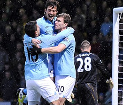 Norwich City 3-4 Manchester City: Dzeko double enough for champions in end-of-year cracker