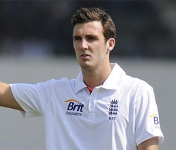 Cook hints at replacing Broad with Finn for Eden Test