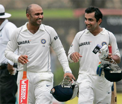 Dhoni wants big scores from Gambhir, Sehwag