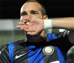 Sneijder not to re-sign with Inter