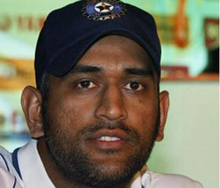 Dhoni mends faces with curator, calls him