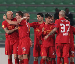 Europa League: Liverpool beat Udinese 1-0 to reach knockout phase