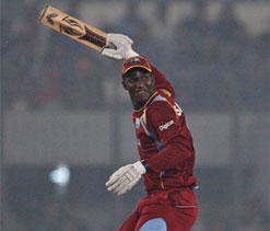 Sammy guides Windies to 75-run win over Bangladesh in 4th ODI
