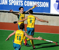 Golden goal by Govers gives Australia 5th successive CT