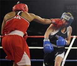Women boxers have choice of skirts or shorts at London Games