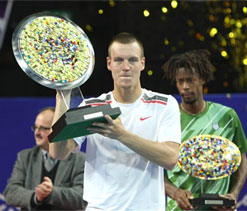 Berdych beats Monfils to snatch Montpellier title
