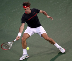 Straight-set wins for Murray, Federer in Dubai