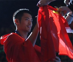 Lin Dan wins All England title after Chong Wei retires