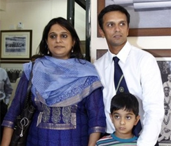 Dravid's humility result of middle-class upbringing: Wife