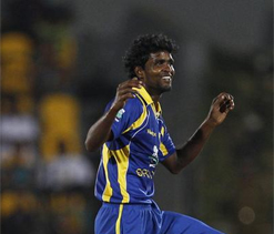 Sri Lanka name Shaminda Eranga as injured Mathews replacement