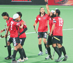 Delhi beat Bhopal 3-1 in World Series Hockey