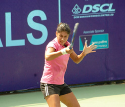 Tough draw for Indians at ITF women`s tennis championship