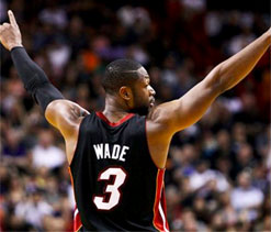 Wade to rescue as Heat repel Magic