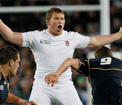 England hooker Hartley cited for alleged biting