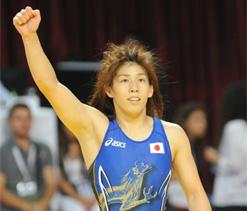 Japanese wrestler Yoshida confident of hat trick