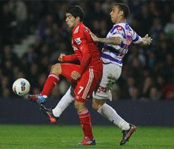 QPR beats Liverpool 3-2 after trailing 2-0