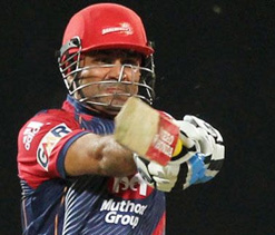 Sehwag, Venu will share batting responsibility for DD: Finch