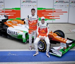 Force India drivers play safe on Narain-Vettel verbal duel