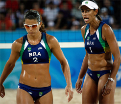 Olympics-Clothing options added for women`s beach volleyball