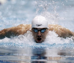 Phelps, Lochte pick up pace at Indianapolis
