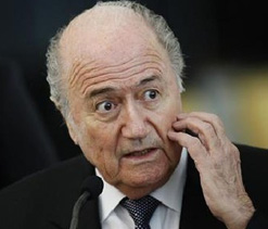 FIFA needs action not words, says Blatter