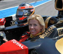 Formula One team appoints female test driver