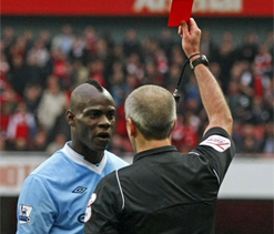 Balotelli sorry for sending-off, says agent