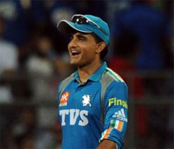 Sourav Ganguly may have to use bat without sponsor`s sticker